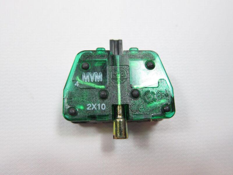New Allen Bradley 800E-2X10 Pushbutton Contact Block Cartridge