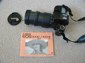 Canon SLR EOS 1000FN incl 4 lenses, UV Filters  & Kobol Flash Alfords Point Sutherland Area Preview