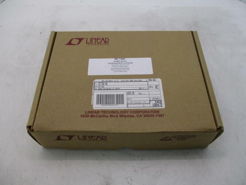 LINEAR TECHNOLOGY DC718C 18-BIT DATA ACQUISITION SYSTEM