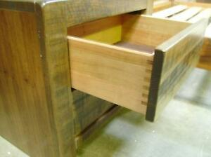 2 BEDSIDES Q/S OR K/S HEADBOARD IN HARDWOOD PUSH IN DRAW RELEASE Thebarton West Torrens Area Preview