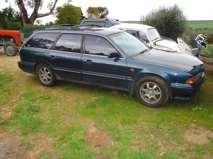 1994 Mitsubishi Verada Wagon Walker Flat Mid Murray Preview