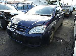 Wrecking 2004 Toyota Corolla Hatch Glenorchy Glenorchy Area Preview