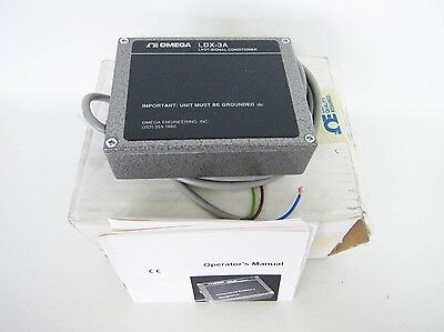 New Omega Ldx-3a Ldx3a Signal Conditioner Transducer Lvdt
