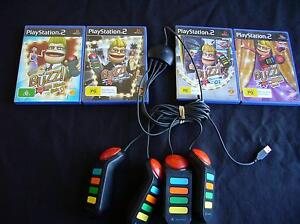 PS2 - Buzz Bundle 4 x Games - Buzzers included - Good condition Carrum Kingston Area Preview