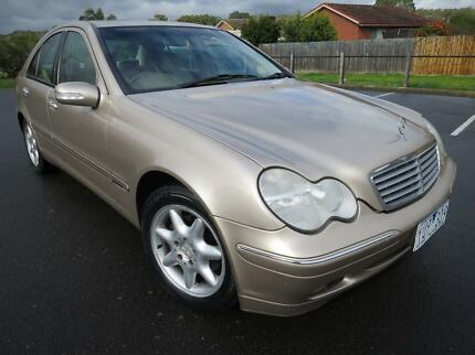 2000 Mercedes C180 Elegance champagne Gold with RWC 9months REGO Watsonia Banyule Area Preview