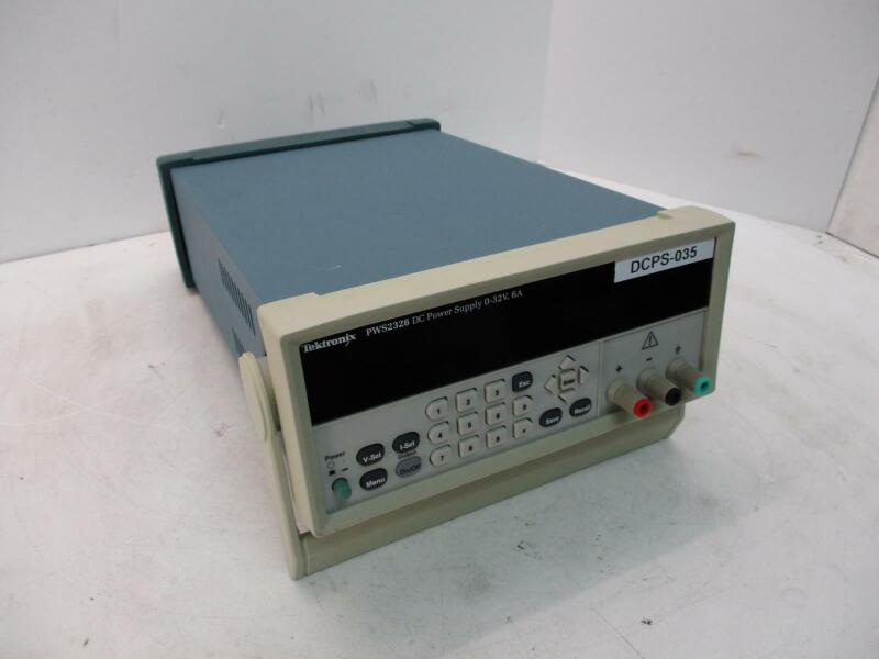 TEKTRONIX PWS2326 DC POWER SUPPLY 0-32V 6A