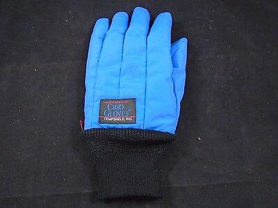 Tempshield Waterproof Cryogenic Wrist Length Liquid Nitrogen Cryo-gloves Small