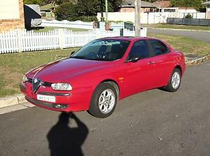 2002 Alfa Romeo 156 Sedan Raymond Terrace Port Stephens Area Preview