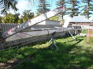 Yacht Masts and sails - from a cruising yacht Beachlands Geraldton City Preview