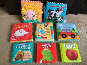 Lamaze, Usborne Soft Cloth Babies Toddlers Books plus Board Books
