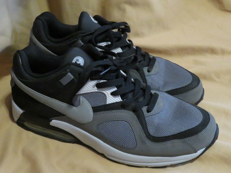 purchase cheap 51387 02dad Men s Nike Air Max Go Strong Running Shoes 418115 012 Gray~Black~White Size  12
