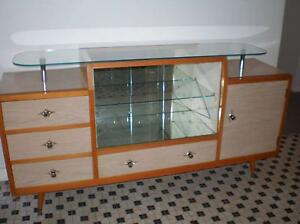 Retro Vintage Cocktail cabinet China Cabinet Display Sideboard Wembley Downs Stirling Area Preview