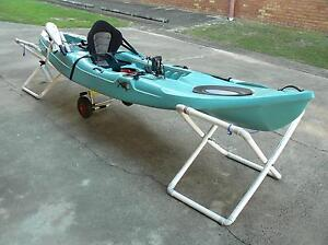 Fully decked out fishing kayak with motor, sounder, batteries Tweed Heads Tweed Heads Area Preview