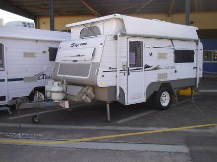2009 Supreme Getaway Off Road Pop Top Caravan