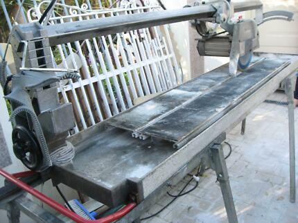 Stone/Tile Rail Wet Saw German Made