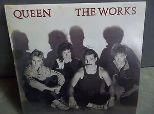Queen-The-Works-autographed-by-band-All-members