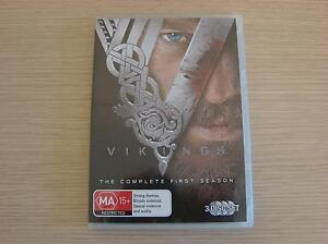 VIKINGS DVD - The Complete First Season Albany Creek Brisbane North East Preview