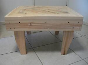 Rustic Coffee Table With Chevron Inlay Design Murrumba Downs Pine Rivers Area Preview
