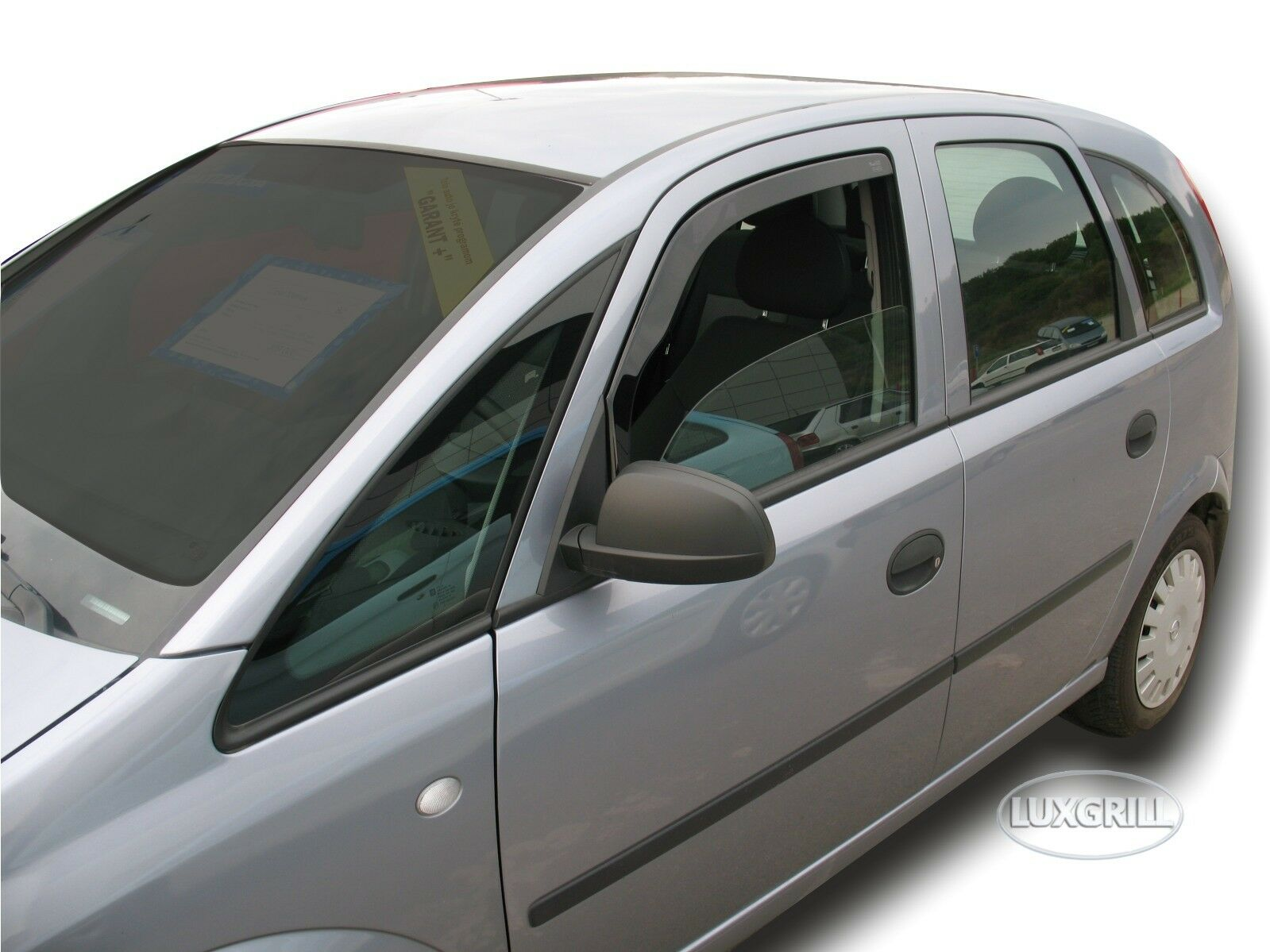 Windabweiser passend für Opel Signum 5 Türen 2003-2008 2tlg Heko