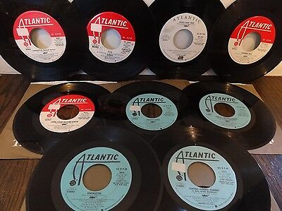 ABBA lot of 9 RARE NM PROMO-ONLY SINGLES MONO & RARE LONG/SHORT VERSIONS