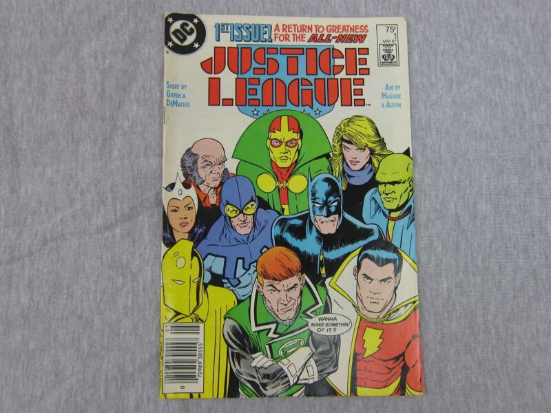 Vintage DC Justice League Return May 1987 Comic Book 1st Issue