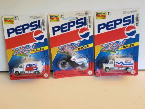 Pepsi Team Racer Lot Of 3