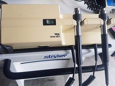 Welch Allyn Model 767 Series Wall Mount Otoscope- Opthalmascope