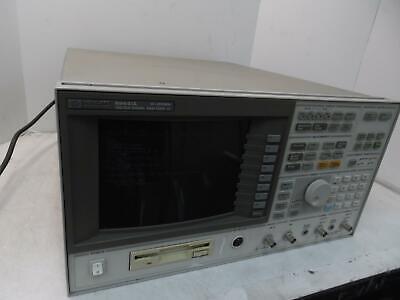 Hp Agilent 89441a Vector Signal Analyzer Dc-2600mhz W Options Ayaafg