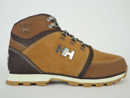 Mens Helly Hansen Koppervik 10990.741 Brown Leather Lace Up Hiking Trail Boots