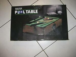 Table Top pool table game and an Air hockey  game Westbourne Park Mitcham Area Preview