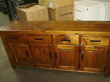 BUFFET 4 DOOR AND 4 DRAW SOLID WOOD Thebarton West Torrens Area Preview