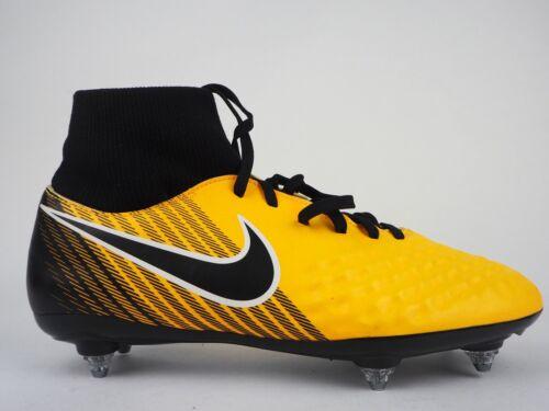 Détails sur NIKE T Magista Onda II DF SG Jaune Sol Mou Chaussures De Football afficher le titre d'origine