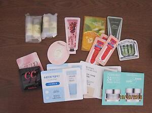 Korean skin care and cosmetic samples Cockburn Peterborough Area Preview