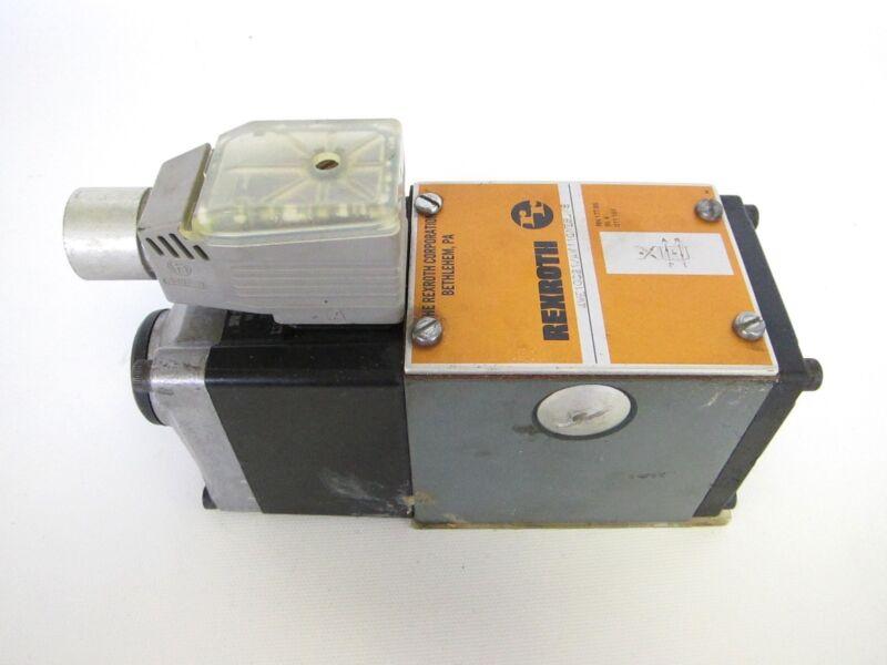 Rexroth Solenoid Valve 4WE10C21/AW110NZ5L/5 WH70-4-A (Warranty)