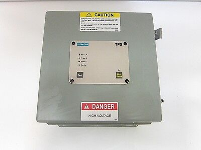 New Siemens Tps-e12240 Transient Voltage Surge Protector