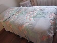 Pair of Matching Quilted Bedspreads Sz King Single Strathfield Strathfield Area Preview