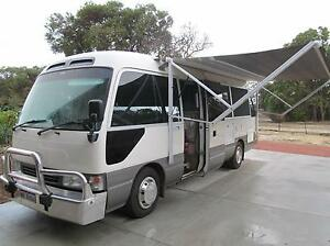2005 Toyota Coaster (automatic)Motor Home Converted 2015 Falcon Mandurah Area Preview