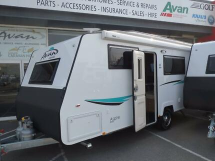 2017 A'van Aspire 555 Hard-top Ensuite Light weight