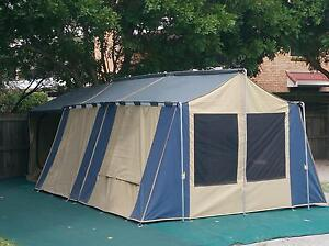 Tent + Sunroom (Oztrail Cabin 12 x 15) Camp Mountain Brisbane North West Preview