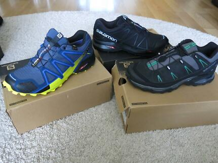 New Salomon Running & Hiking Shoes- Size EUR 42 US 9 Mens