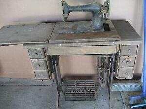 SINGER TREADLE SEWING MACHINE for restoration Kirwan Townsville Surrounds Preview