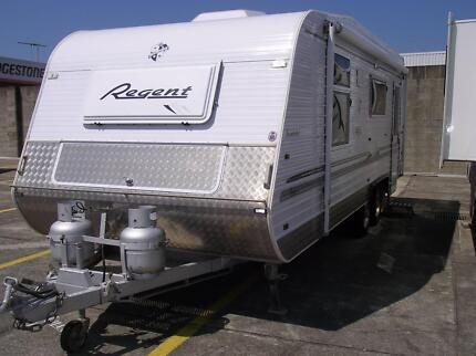 2008 Regent Cruiser SE Series 3 Caravan