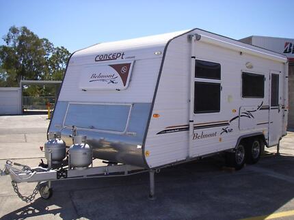 2012 Concept Belmont X12 Shower/Toilet Combo Caravan