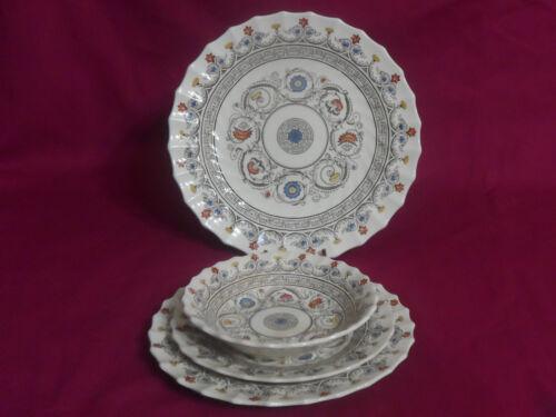 Spode Copeland FLORENCE Luncheon, Dessert, Bread Plate & Fruit Bowl #2/8411