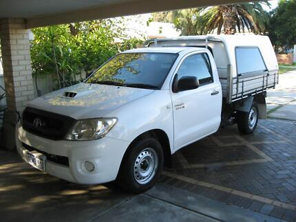 Toyota Hilux Ute 2010 Turbo Diesel 5 SP Manual Single Cab&Canopy Bassendean Bassendean Area Preview