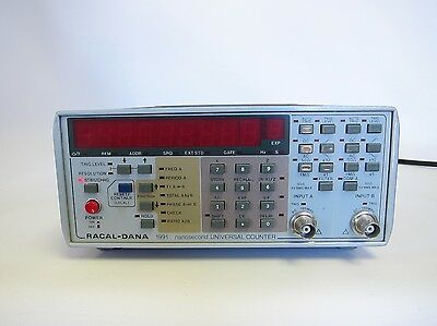 Racal-dana Nanosecond Universal Counter 1991