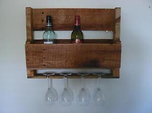 Rustic Wine Rack Murrumba Downs Pine Rivers Area Preview