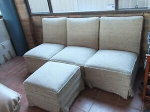 Lounge chairs 5 in all. 2 have arms, can be arranged in many ways Davistown Gosford Area Preview