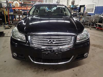08 09 10 INFINITI M35 Reconditioned Front Bumper w/Adaptive Cruise Opt Black KH3