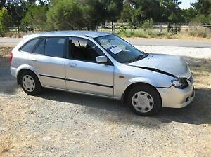 Mazda 323 astina wagon 10/ 2002 silver wrecking Armadale Armadale Area Preview